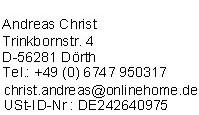 Impressum von GuenstigeHausratversicherung.de